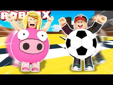 SUPER EPICKI WYŚCIG W KULACH!⚡ (Roblox- Super Blocky Ball)  BELLA I VITO