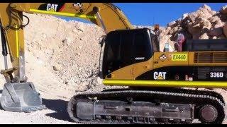 "Cat 336 Excavator ""How to do Pre-Start"""