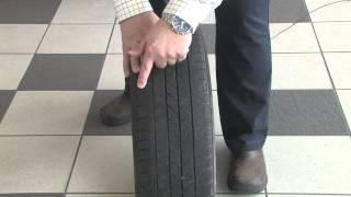 Tech Tips Checking tire wear
