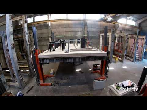 Protecta Fire Test Construction - Floor Penetration Systems