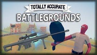 Totally Accurate Battlegrounds - Bugs, Paneladas e MEGA SNIPER!!