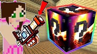 Minecraft: THE MOST OVERPOWERED LUCKY BLOCK MOD IN MINECRAFT!!! Mod Showcase