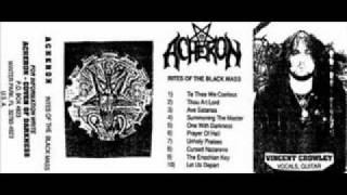 Acheron -Ave Satanas(demo 1991)