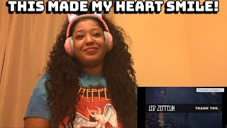 LED ZEPPELIN - THANK YOU REACTION | THE ZEPPATHON