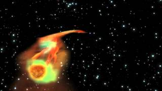 Black Hole Snacks On A Super-Jupiter | Animation