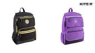 """Рюкзак молодежный College Line K18-889L-1 от компании Интернет-магазин """"Радуга"""" - школьные рюкзаки, канцтовары, творчество - видео"""