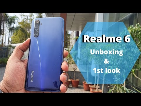 Realme 6 Unboxing and First Look: A Dawn of 90Hz refresh rate in budget segment!