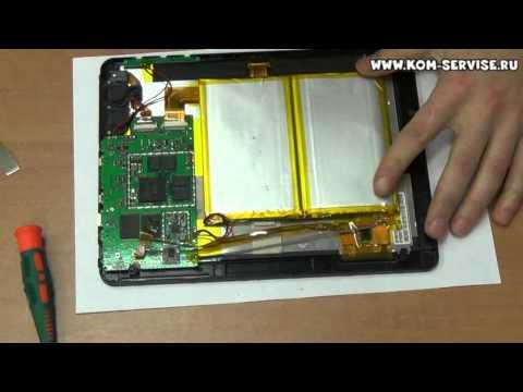 Разборка и ремонт планшета 3Q QPAD 9710