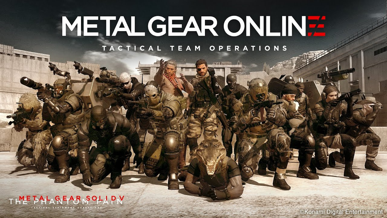 11 Minutes Of Metal Gear Online Being Insane
