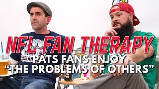 "NFL FAN THERAPY: Pats Fans Enjoy ""The Problems Of Others"""