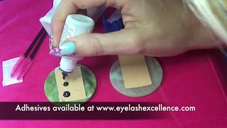 PROBLEMS WITH YOUR EYELASH ADHESIVE?