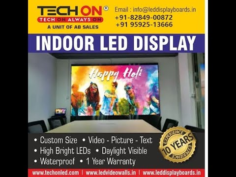 TECHON Outdoor LED Video Wall Display
