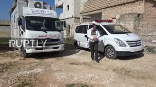 Syria: Siły rządowe otwierają korytarz umożliwiający cywilom opuszczenie zajętych przez bojowników obszarów w Idlibie.