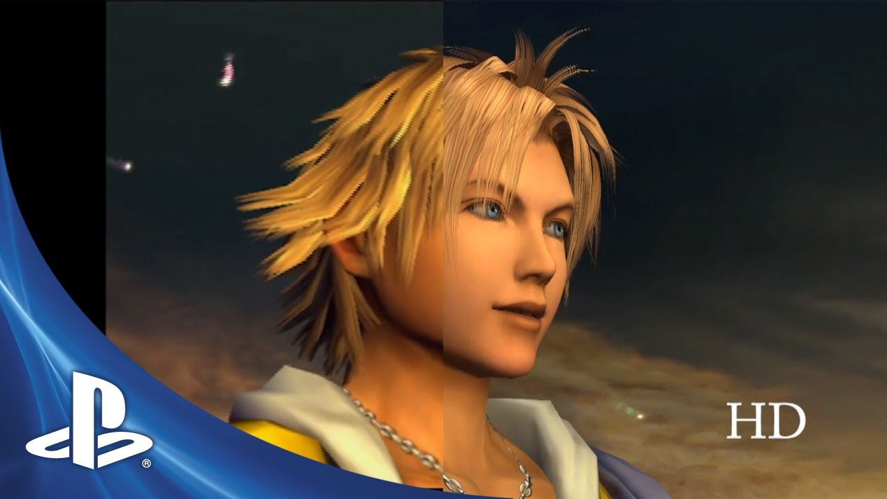 FINAL FANTASY X/X-2: SD vs HD Video, Pre-Order for Art Book Edition