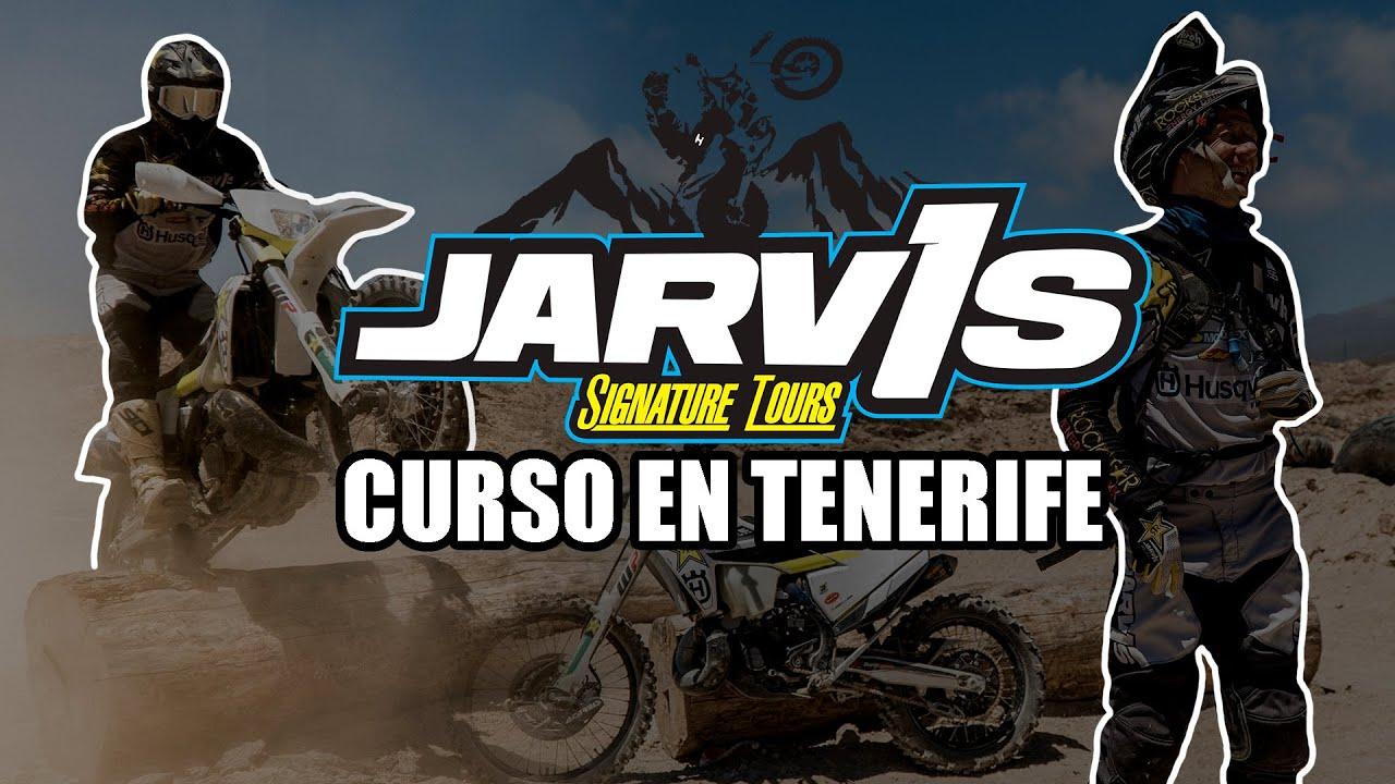Graham Jarvis en Tenerife - Curso de enduro