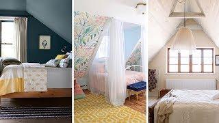 10 Slanted Ceiling Bedroom Makeover Ideas