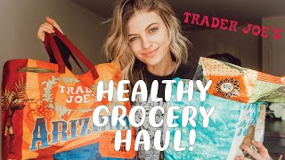 TRADER JOES HAUL   Healthy Grocery ideas!