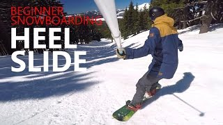 #41 Snowboard begginer – Heel slide tips