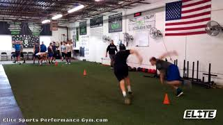 Athlete's Developing Rapid Change of Direction
