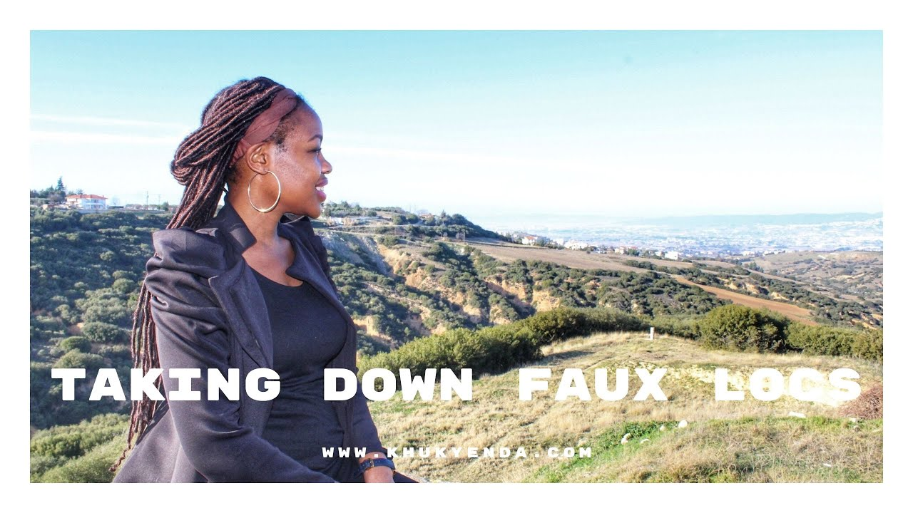 Taking down my Faux Locs | The struggles of natural hair abroad