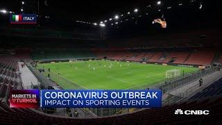 Coronavirus' impact on sporting events around the world