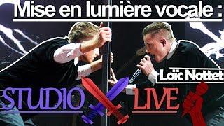 Loïc Nottet   Studio VS Live I Mise En Lumière Vocale (Million Eyes, Mud Blood, Rhythm Inside, ...)