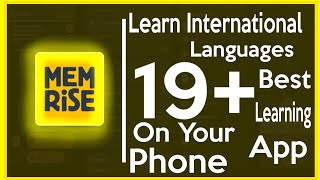 Learn Language App | How To learn Different languages Using App on Android | Learn Turkish & French