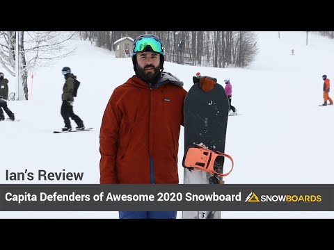 Video: Capita Defenders of Awesome Snowboard 2020 7 50