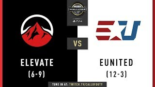 Elevate vs eUnited | CWL Pro League 2019 | Division B | Week 10 | Day 2