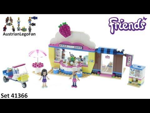 Vidéo LEGO Friends 41366 : Le Cupcake Café d'Olivia