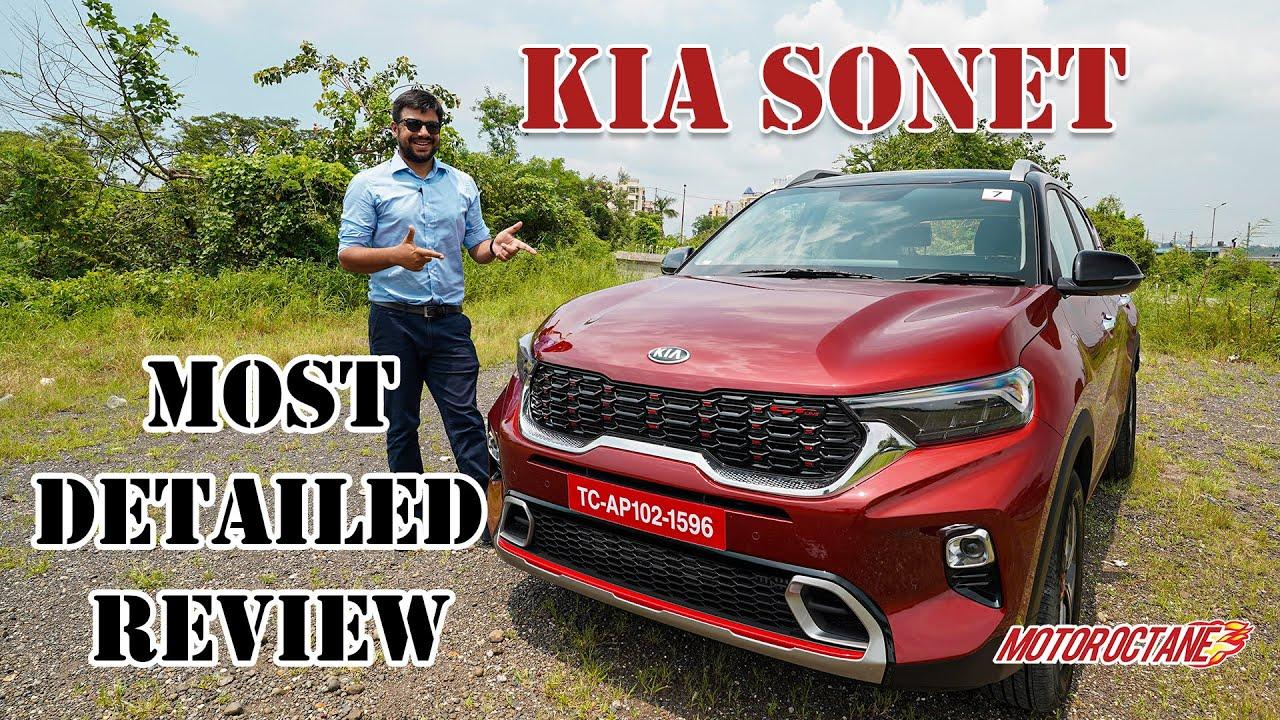 Motoroctane Youtube Video - Kia Sonet - Venue, Brezza, Nexon Competition? | Hindi | MotorOctane