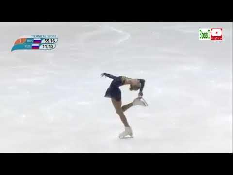 Alyona KANYSHEVA - SP, Children of Asia 2019