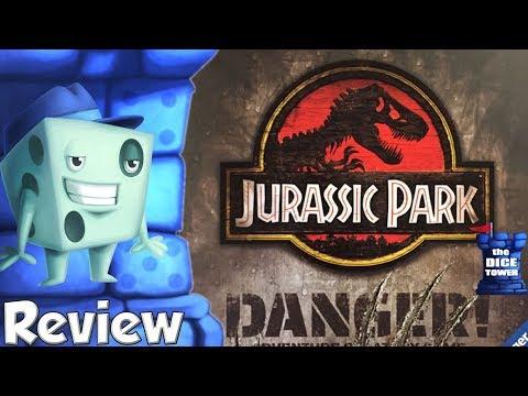 Jurassic Park: Danger! Review - with Tom Vasel