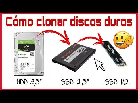 CÓMO CLONAR DISCOS HDD, SSD Y SSD M2