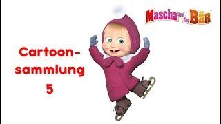 Mascha und der Bär -  Cartoonsammlung 5 💥(30 Minuten)