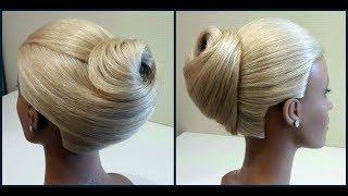 Обучение прическам.Прически на длинные и средние волосы.Training hair. For long hair and medium hair
