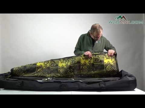 Rossignol Super Haul 2 Pairs Wheelie Bag   AvidMax