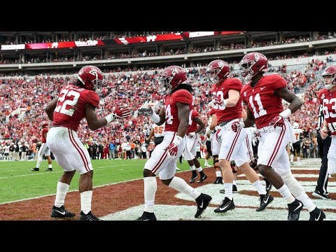Every Alabama Crimson Tide Touchdown of the 2017-18 Regular Season