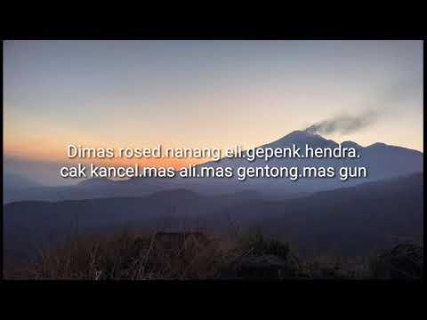 Viral Kenangan dari puncak bukit kencur gumeng gondang mojokerto