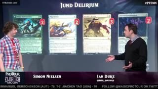 Pro Tour Eldritch Moon Deck Tech with Simon Nielsen: Jund Delirium