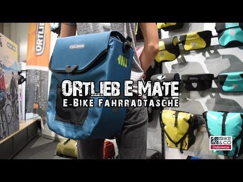 Ortlieb E Mate - Wasserdichte Fahrradtasche für E Bikes | Bi&Co Fahrradmesse 2018