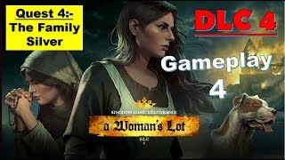 Kingdom Come Deliverance DLC 4 - A Womans Lot - The Family Silver Quest 4 Full Gameplay