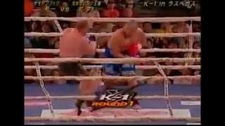 ЛУЧШИЕ БОИ:боксер против нокаутера К-1