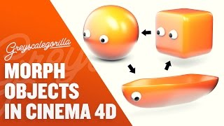 Morph In Cinema 4D Using the Pose Morph Tag