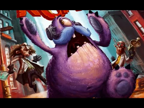 Board Game Brawl Reviews - Roar! Catch the Monster