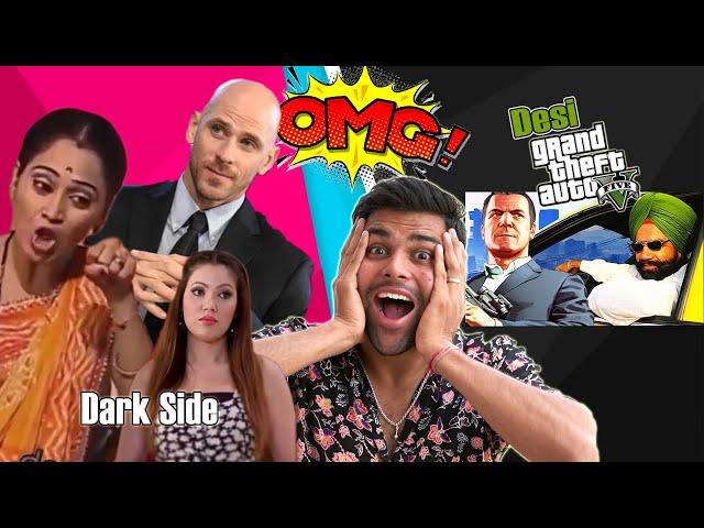 Dark Side Of Tarak Mehta Ka Ooltah Chashma & Indian GTA | DhiruMonchik