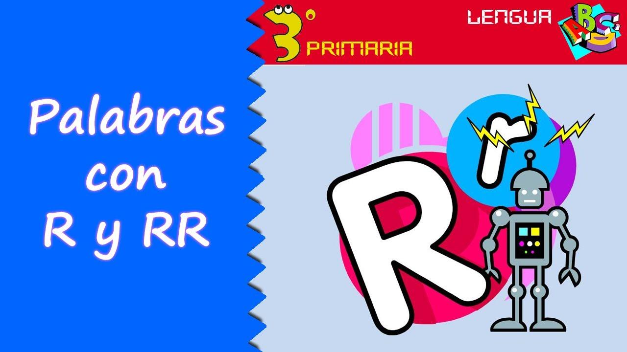 Lengua Castellana. 3º Primaria. Tema 5. Palabras con r y rr