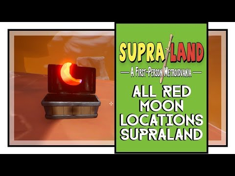 Supraland All Red Moon Locations (Supraland How To Get Super Sword Secret Weapon)