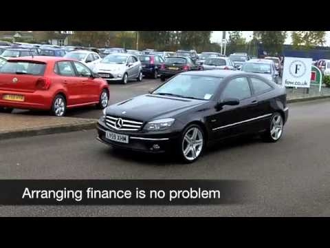 USED MERCEDES-BENZ CLC CLASS COUPE (2009) 160 BLUEEFFICIENCY SPORT 3DR AUTO - LV59XHM