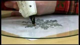 Glue Gun Snowflake ~ Featuring Miriam Joy